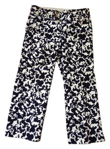 Lilly Pulitzer Capris Navy and White