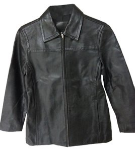 Coach Leather Leather Jacket