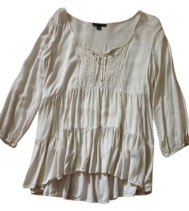American Eagle Outfitters Top Light Tan