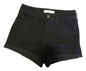 Hollister Denim Shorts-Dark Rinse