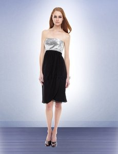 Bill Levkoff BLACK/SILVER Bl 152 Dress