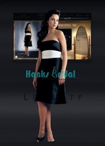 Bill Levkoff BLACK/IVORY Bl 100 Dress