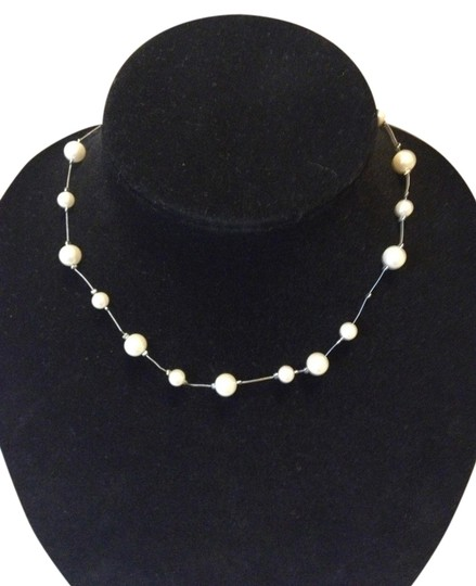 Other Set of (2) faux pearl and bead necklaces