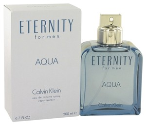 Calvin Klein Eternity Aqua Cologne for Men by Calvin Klein, 6.7oz/200ml EDT spray. Brand New.