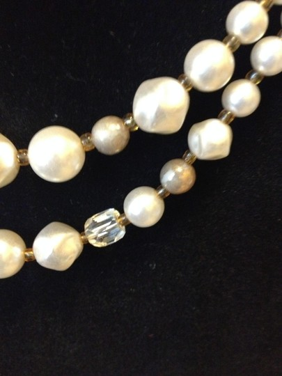 Other Faux pearl and bead necklace