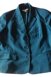 Coldwater Creek Classic Teal Blazer