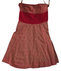 Free People short dress Red, orange on Tradesy