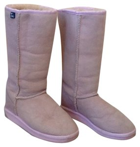 EMU Pale Pink Boots