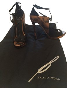 B Brian Atwood Black Pumps