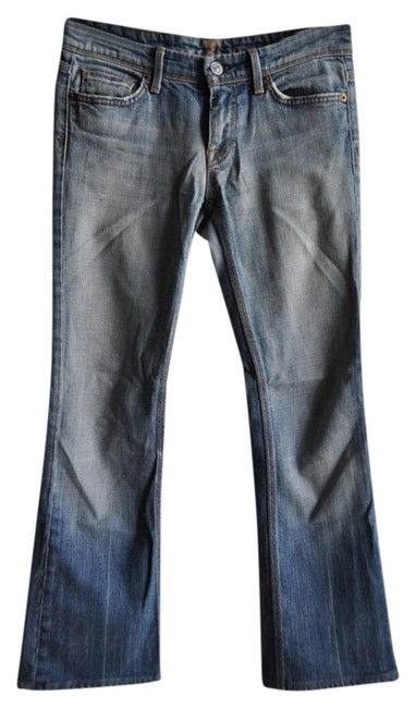Preload https://item2.tradesy.com/images/7-for-all-mankind-light-wash-flynt-boot-cut-jeans-size-26-2-xs-1111081-0-0.jpg?width=400&height=650