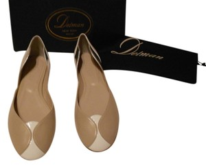 Delman D'orsay Made In Spain Oyster Mix Flats