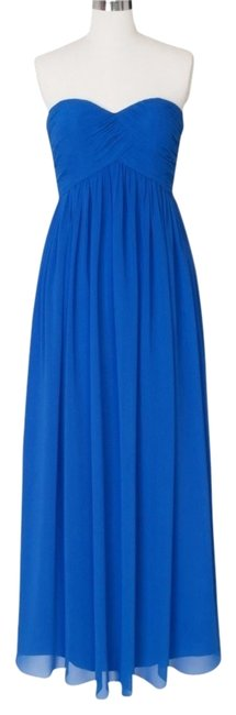 Preload https://item5.tradesy.com/images/blue-strapless-sweetheart-chiffon-long-cocktail-dress-size-0-xs-1111139-0-0.jpg?width=400&height=650