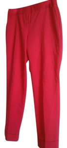 Express Cropped Casual Date Night Capri/Cropped Pants Deep pink