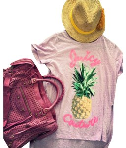 Juicy Couture T Shirt Dark Pink