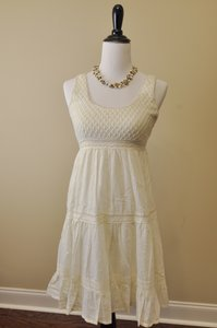 dELiA*s short dress White Machine Washable on Tradesy