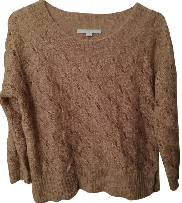 Item - Crocheted Brown Sweater