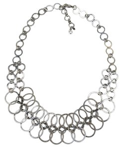 Lucky Brand Lucky Brand Rings Links Necklace Silver Tone