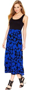 BRIGHT COBALT COMBO Maxi Dress by Kensie
