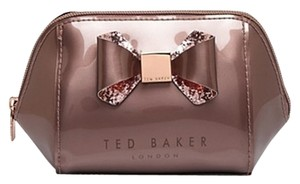 Ted Baker TED BAKER Large Trapeze Glitter Bow Cosmetic Case
