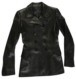 ALAÏA Leather BLACK Leather Jacket