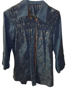 Robert Graham Button Down Shirt Blue/multi