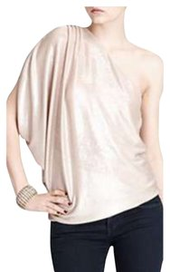 Alice + Olivia Top Pink/ gold