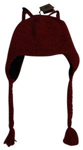Andes Gifts Andes Gifts Fair Trade Alpaca Wool Red Fox Ears Winter Hat