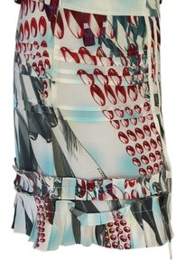Marcus Lupfer Skirt blue/red
