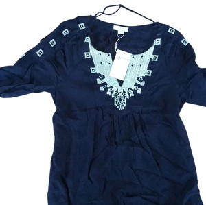 Monsoon Top Dark blue