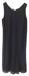 DKNY Classic Silk Sleeveless Dress