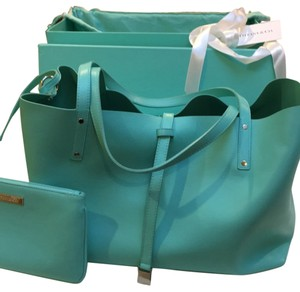 Tiffany & Co. Tote in Teal