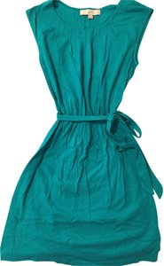 Ann Taylor LOFT short dress Green Summer Spring on Tradesy