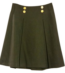 The Limited Nautical Skirt Navy