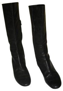 Searle Made In Italy Mid-calf Black Boots