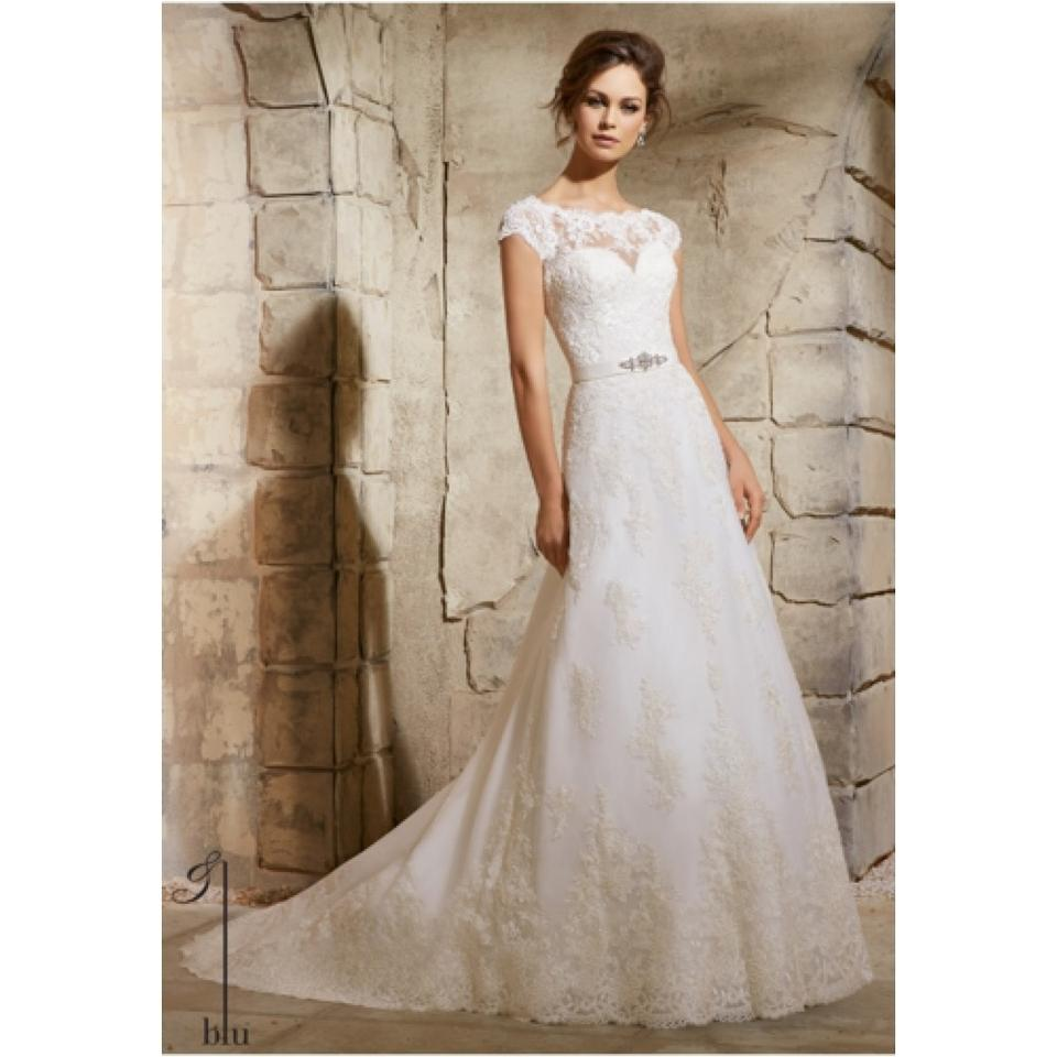 Mori lee wedding dress on sale 49 off wedding dresses for Mori lee wedding dress sale