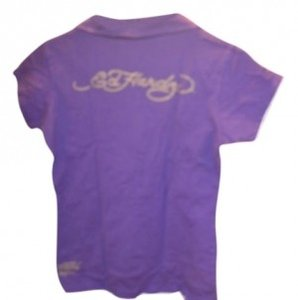 Ed Hardy T Shirt purple