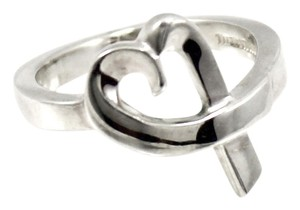 Tiffany & Co. Tiffany & Co. Paloma Picasso Loving Heart Ring in 925 Sterling Silver Size 5