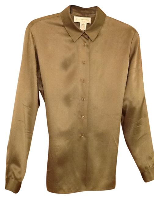 Preload https://item2.tradesy.com/images/olive-silk-blouse-size-12-l-111166-0-0.jpg?width=400&height=650