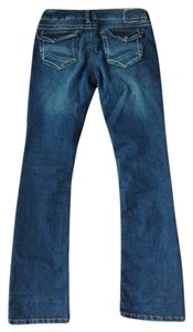 UNIONBAY Boot Cut Jeans-Dark Rinse