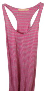 Pink & grey striped Maxi Dress by TEE by Big Star