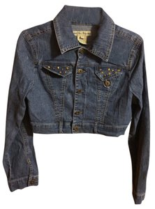 Paris Blues Studded Crop Top Denim Jacket