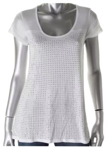 INC International Concepts T Shirt Bright White