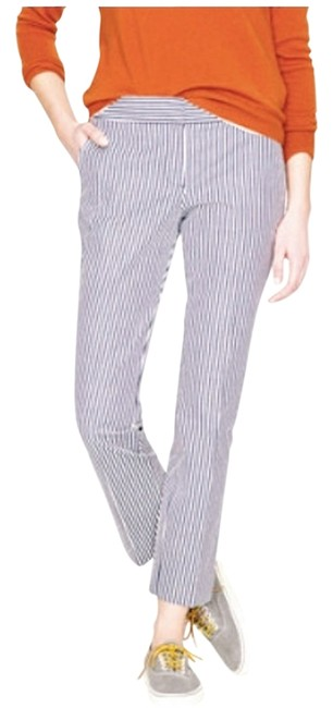 Item - Blue and White A3347 Capris Size 6 (S, 28)