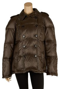 Burberry London Designer Nylon Goose Down Jacket Winter Nova Check Fashion Luxury Runway Coat
