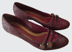 J Vincent Plum Pumps