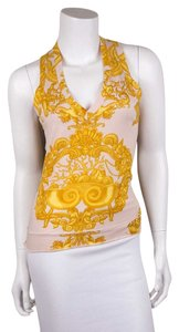 Versace Top Blush and Yellow