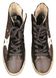 Golden Goose Deluxe Brand Black / Silver / White Athletic
