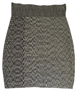 La Cite Skirt Black and White