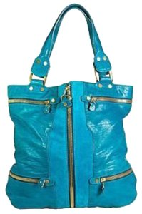 Jimmy Choo Tote in Turquoise
