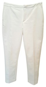 Forever 21 Slim Capri/Cropped Pants white